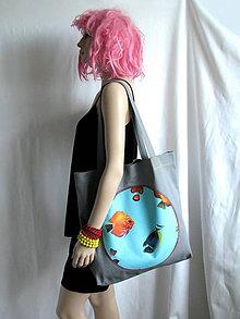 """Veľké tašky - Taška """"akvárium"""" - 6678402_"""