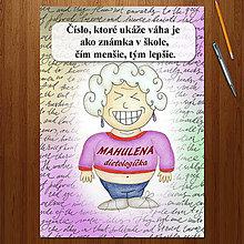 "Papiernictvo - Zápisník jedál s vtipným citátom ,,Čísla"" (6) - 6678915_"