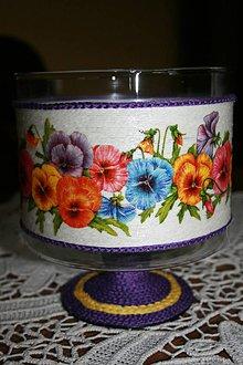 Svietidlá a sviečky - Svietnik - sirôtky - 6683018_