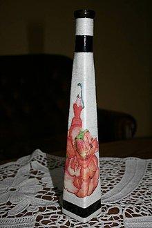 Dekorácie - Váza - kvety 3. - 6683114_