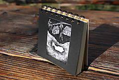 Papiernictvo - Notes střední s kozou - 6681239_