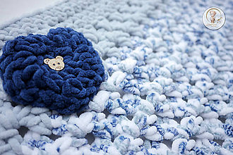 Textil - Detská deka Macko - 6682662_