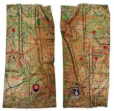 Šatky - Multifunkčná šatka Západné Tatry - 6682182_