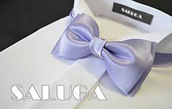 - Bledo fialový - orgovánový pánsky motýlik - 6682354_