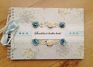 Papiernictvo - svadobná kniha hostí - 6680841_