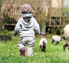 Detské oblečenie - Ježci na louce - 6681175_
