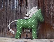 - Kľúčenka -zelený koníček - 6681101_