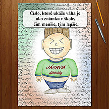"Papiernictvo - Zápisník jedál s vtipným citátom ,,Čísla"" (13) - 6680494_"