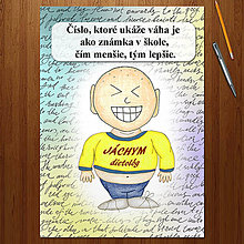 "Papiernictvo - Zápisník jedál s vtipným citátom ,,Čísla"" (14) - 6680498_"