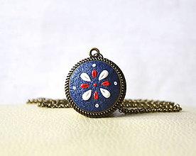 Náhrdelníky - Folk ornament (náhrdelník) - 6684196_