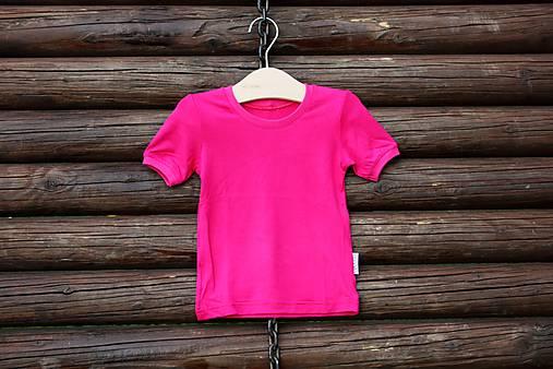 94c9237f52 Ružové bambusové tričko - veľkosť 86 92   eponita - SAShE.sk ...