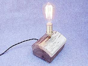 Svietidlá a sviečky - Stolova lampa 4 Edisonofka - 6685983_
