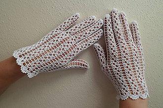 Rukavice - Svadobné rukavičky - 6686280_
