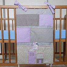 Textil - Vreckár Šedo-fialový - 6683762_