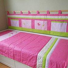 Úžitkový textil - Komplet Slávik a ruža - 6683963_