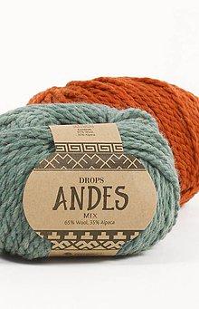 Galantéria - Priadza DROPS Andes MIX - 6686044_