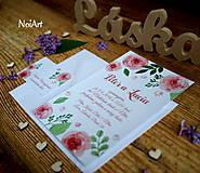 Svadobné oznámenie 1