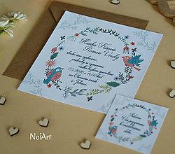 Papiernictvo - Svadobné oznámenie 2 - 6687358_