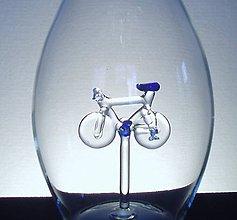 Nádoby - Fľaša s bicyklom - 6685527_