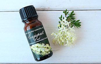 Suroviny - Cajeput /biely čajovník/- esenciálny olej (10 ml) - 6683490_