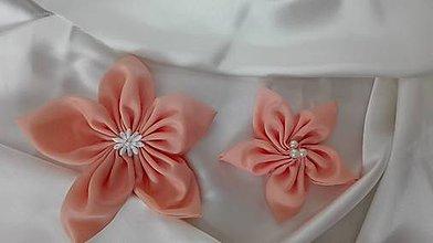 Materiál ručne robený - Broskyňové kvety - 6687471_