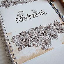 """Papiernictvo - Poznámkovník """"VTÁČIK"""" A5 - 6684127_"""