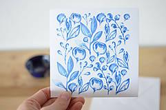Papiernictvo - Blahoželanie Azulejo - 6683520_