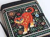 Papiernictvo - Veselá kočička I. - krásný obal na ,knihu,diář... - 6685891_