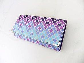 Peňaženky - Tula Violet - peněženka i na karty 17 cm - 6686053_