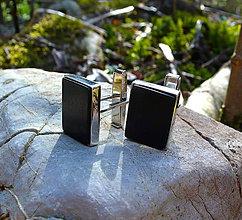 Šperky - Eben a striebro - 6684119_