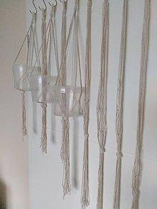 Dekorácie - Sada makrame zavesov pre darsy22 - 6684931_