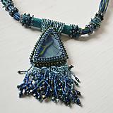 Náhrdelníky - Labradoritkový náhrdelník - 6683350_