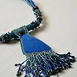 Náhrdelníky - Labradoritkový náhrdelník - 6683353_
