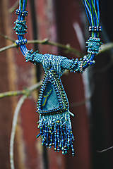 Náhrdelníky - Labradoritkový náhrdelník - 6683367_