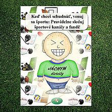 "Papiernictvo - Zápisník jedál s vtipným citátom ,,Šport"" (1) - 6683322_"