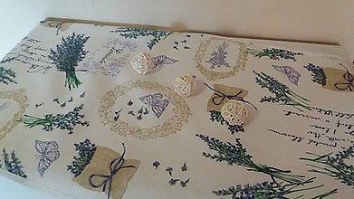 Úžitkový textil - Levandulova štola - 6689056_