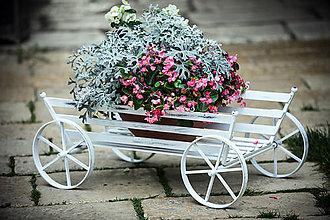 Nádoby - stojan na kvety - 6691979_