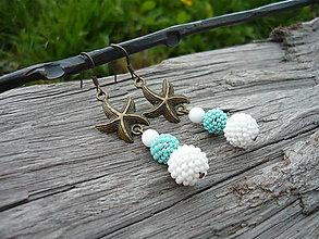 Náušnice - Náušnice Mořské hvězdice - 6691498_