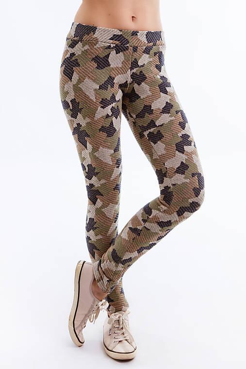 Nohavice - Legíny Army Camouflage maskáčové - 6692534_