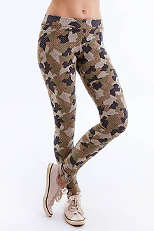 Nohavice - Legíny Army (Camouflage) - 6692534_
