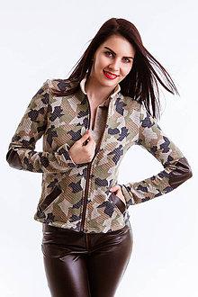 Mikiny - Kabátik  Army  (Camouflage) - 6692613_