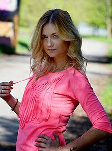 Tričká - Tričko s třásněmi - ve 4 jasných barvách - 6691514_
