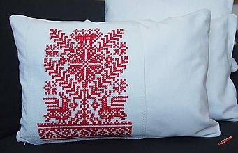 Úžitkový textil - Babka vankúšik Červenoočko 2 - 6691402_