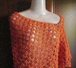 Šatky - Oranžová - 6691582_