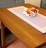 Úžitkový textil - Obrus - štóla fialová - 6692446_