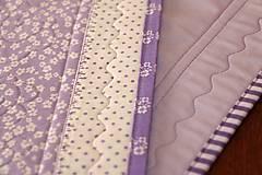 Úžitkový textil - Obrus - štóla fialová - 6692453_