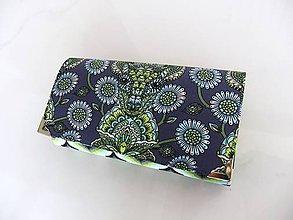 Peňaženky - Foral Deer - peněženka i na karty 17 cm - 6691714_