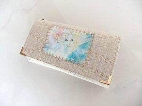 Peňaženky - Tvoj Anjel strážny - peňaženka aj na karty 17 cm - 6691763_