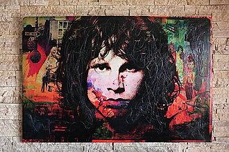 Obrazy - Pop Art obraz Jim Morrison - 6689815_