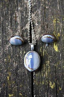 Sady šperkov - Sada šperkov zo skla - Sen o čokoláde(j) - 6693434_